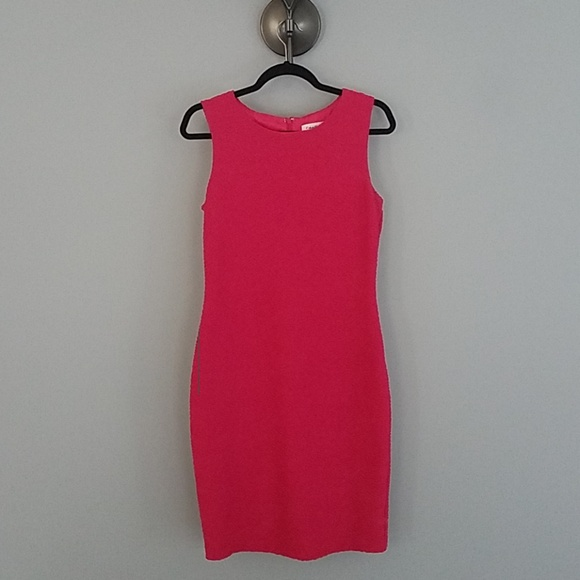 Calvin Klein Dresses & Skirts - Calvin Klein pink stretch shift dress